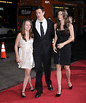 Johnny Knoxville with his daughter Madison and wife Naomi Nelson at The Paramount Pictures' L.A. Premiere of Jack Ass 3-D held at The Grauman's Chinese Theatre in Hollywood, California on October 13,2010                                                                               © 2010 Hollywood Press Agency