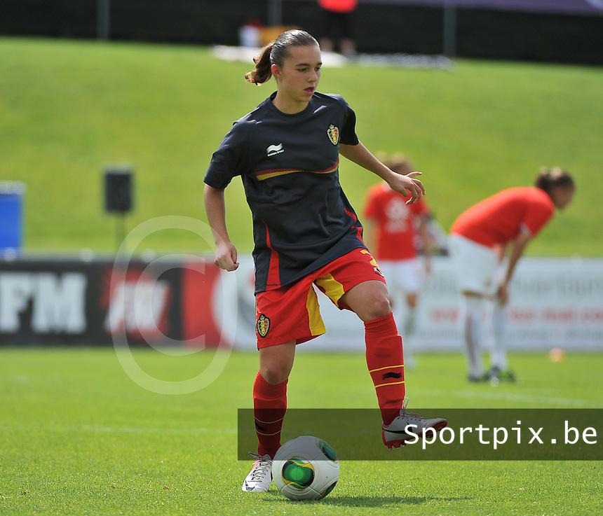 Belgium - Poland : Jody Vangheluwe<br /> foto David Catry / nikonpro.be
