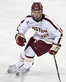 Brooks Dyroff (BC - 14) - The Boston College Eagles defeated the University of Vermont Catamounts 4-1 on Friday, February 1, 2013, at Kelley Rink in Conte Forum in Chestnut Hill, Massachusetts.