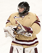 Ryan Polischuk (BC - 30) - The Boston College Eagles defeated the visiting University of Vermont Catamounts to sweep their quarterfinal matchup on Saturday, March 16, 2013, at Kelley Rink in Conte Forum in Chestnut Hill, Massachusetts.