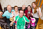 Brendan O'Connell, Gold Medalist at the World Games which was held in LA with his family from left:  Michael and Elizabeth, Brendan, Mike Jnr, James and Claire.