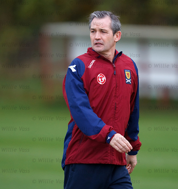 George Burley on the training field