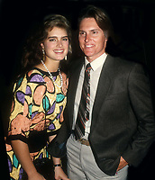 Brooke Shields Bruce Jenner 1989<br /> Photo By John Barrett/PHOTOlink