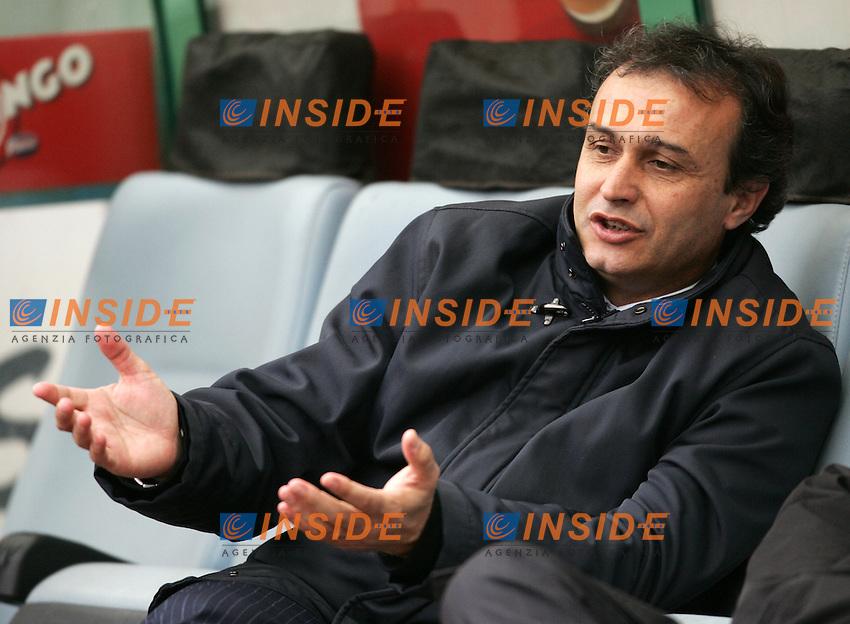 Pasquale Marino (Catania) trainer<br /> 28 Feb 2007 (Match Day 26)<br /> Lazio-Catania (3-1)<br /> &quot;Olimpico&quot;-Stadium-Roma-Italy<br /> Photographer: Andrea Staccioli INSIDE