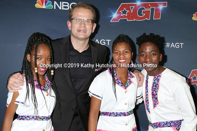 """LOS ANGELES - SEP 18:  Ndlovu Youth Choir at the """"America's Got Talent"""" Season 14 Finale Red Carpet at the Dolby Theater on September 18, 2019 in Los Angeles, CA"""