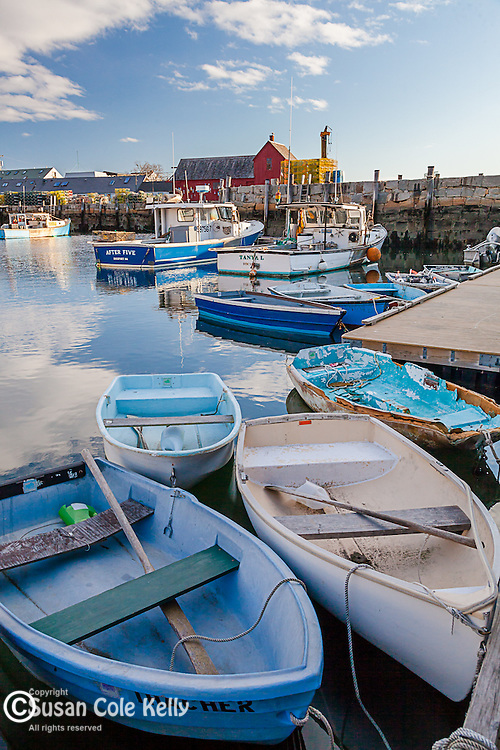 Morning on Rockport Harbor, Rockport, Massachusetts, USA