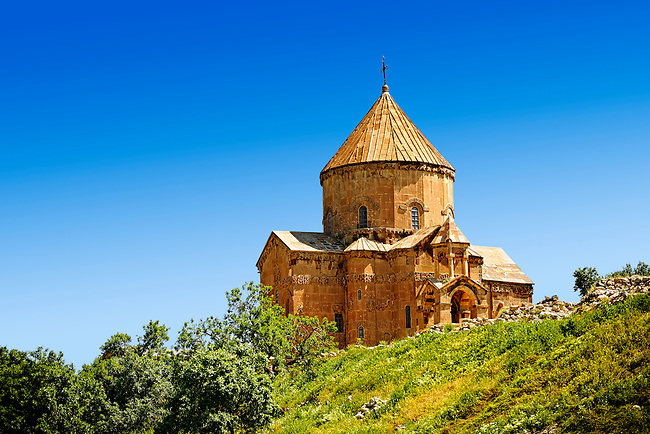 10th century Armenian Orthodox Cathedral of the Holy Cross on Akdamar Island, Lake Van Turkey 67