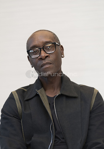 """Don Cheadle, who stars in 'Avengers: Endgame"""", at the InterContinental Hotel in Los Angeles. Credit: Magnus Sundholm/Action Press/MediaPunch ***FOR USA ONLY***"""