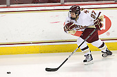 Laura Hart (BC - 27) - The visiting St. Lawrence University Saints defeated the Boston College Eagles 4-0 on Friday, January 15, 2010, at Conte Forum in Chestnut Hill, Massachusetts.