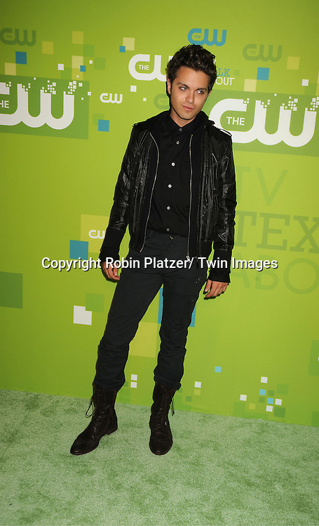 Thomas Dekker attending The CW 2011 Upfront on May 19, 2011 at Jazz at Lincoln Center in New York City.