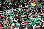 09.02.2019, HDI Arena, Hannover, GER, 1.FBL, Hannover 96 vs 1. FC Nuernberg<br /> <br /> DFL REGULATIONS PROHIBIT ANY USE OF PHOTOGRAPHS AS IMAGE SEQUENCES AND/OR QUASI-VIDEO.<br /> <br /> im Bild / picture shows<br /> Hannover 96 Fans / Ultras halten Fan-Schals und schwenken Fahnen in Nordkurve der HDI Arena, <br /> <br /> Foto &copy; nordphoto / Ewert