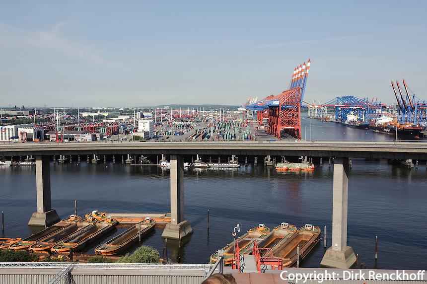 Deutschland, Hamburg, Rugenberger Hafen