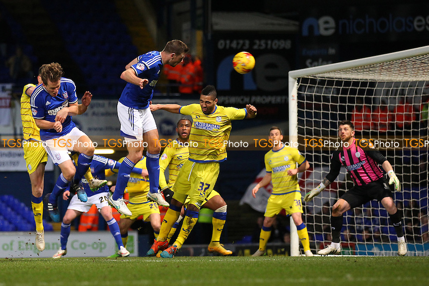 Tommy Smith of Ipswich Town goes close to a goal for his team - Ipswich Town vs Sheffield Wednesday - Sky Bet Championship Football at Portman Road, Ipswich, Suffolk  - 10/02/15 - MANDATORY CREDIT: Gavin Ellis/TGSPHOTO - Self billing applies where appropriate - contact@tgsphoto.co.uk - NO UNPAID USE