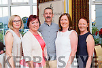Having a ball at the Killarney Athletic 50th anniversary celebrations in the Dromhall Hotel on Saturday night l-r: Mairead Murphy, Maura Lee, Michael Murphy, Trisha Lyons and Aine Lyons