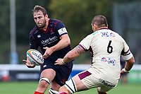 Jonathan Mills of London Scottish in action the Greene King IPA Championship match between London Scottish Football Club and Doncaster Knights at Richmond Athletic Ground, Richmond, United Kingdom on 30 September 2017. Photo by Jason Brown / PRiME Media Images.