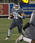 Nevada's Toa Taua (35) runs against Colorado State in the first half of an NCAA college football game in Reno, Nev., Saturday, Oct. 27, 2018. (AP Photo/Tom R. Smedes)
