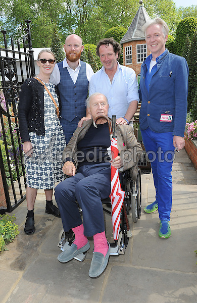 23 May 2016 - London, England - Orla Kiely, Pol Gallagher, Diarmuid Gavin, Philip Treacy, Sir Terence Conran. RHS Chelsea Flower Show 2016 held at the Royal Hospital. Photo Credit: Alpha Press/AdMedia