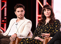 2020 FOX WINTER TCA: (L-R): 9-1-1: LONE STAR cast members Ronen Rubinstein and Liv Tyler during the 9-1-1: LONE STAR panel at the 2020 FOX WINTER TCA at the Langham Hotel, Tuesday, Jan. 7 in Pasadena, CA. © 2020 Fox Media LLC. CR: Frank Micelotta/FOX/PictureGroup