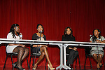Melanie Martin - Nana Meriwether- Beverly Johnson - Danika Fraley on a panel at Color of Beauty recognizes stylish people of color with a one-day event featuring topical panel discussions followed later tonght with a red carpet awards ceremony. The event was on February 4, 2014 at New York University, New York City, NY. (Photo by Sue Coflin/Max Photos)