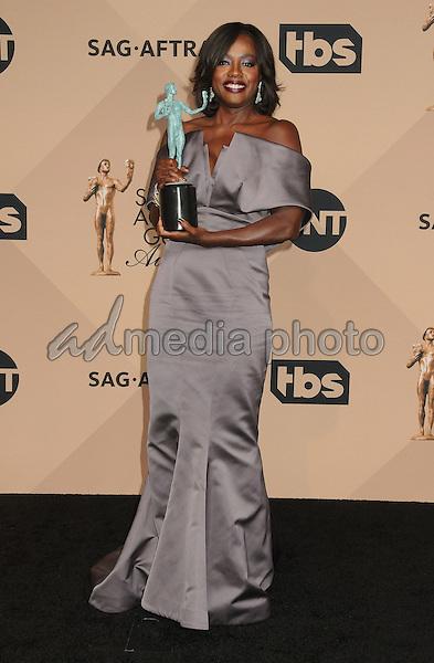 30 January 2016 - Los Angeles, California - Viola Davis. 22nd Annual Screen Actors Guild Awards held at The Shrine Auditorium. Photo Credit: Byron Purvis/AdMedia