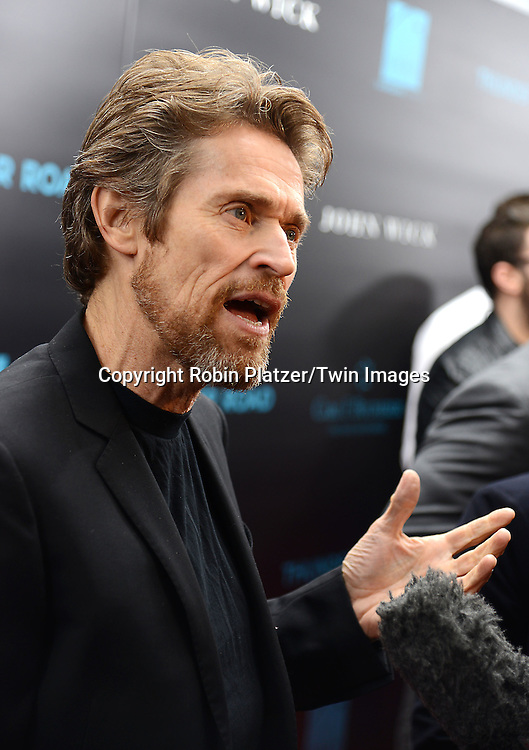 Willem Dafoe attends the Special Screening of &quot;John Wick&quot;  on October 13, 2014 at the Regal Union Square Stadium 14 in New York City.<br /> <br /> photo by Robin Platzer/Twin Images<br />  <br /> phone number 212-935-0770