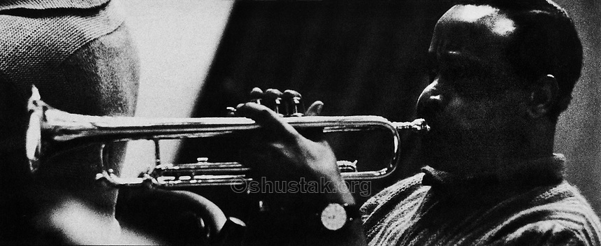 Harry Edison, trumpeter.