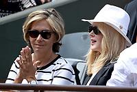 Valerie Pecresse; Nicole Kidman - Internationaux de france de tennis de Roland Garros 2017 - Finale MESSIEURS