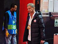 5th November 2019; Mestalla, Valencia, Spain; UEFA Champions League Football,Valencia versus Lille; Lille Manager Christophe Galtier arrives at Mestalla stadium - Editorial Use