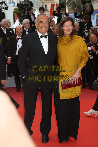 Alberto Barbera and a guest attends the BACURAU 72nd annual Cannes Film Festival premiere, Cannes France on May 15 2019.<br /> CAP/GOL<br /> ©GOL/Capital Pictures