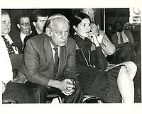 Rene levesque et Corinne Cote-Levesque, 22 septembre 1980