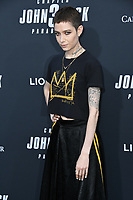 "15 May 2019 - Hollywood, California - Asia Kate Dillon. ""John Wick: Chapter 3 - Parabellum"" Special Screening Los Angeles held at the TCL Chinese Theatre. Photo Credit: Birdie Thompson/AdMedia"