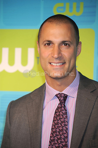 Nigel Barker at the 2010 CW Upfront Green Carpet Arrivals at Madison Square Garden in New York City. May 20, 2010.Credit: Dennis Van Tine/MediaPunch