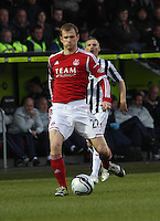 Mark Reynolds in the St Mirren v Aberdeen Clydesdale Bank Scottish Premier League match played at St Mirren Park, Paisley on 9.11.12.