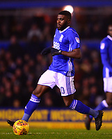 Jeremie Boga of Birmingham in action during the Sky Bet Championship match between Birmingham City and Sunderland at St Andrews, Birmingham, England on 30 January 2018. Photo by Bradley Collyer / PRiME Media Images.