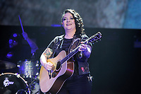 LONDON, ENGLAND - MARCH 10: Ashley McBryde performing at C2C (Country 2 Country) at the O2 Arena on March 10, 2019 in London, England.<br /> CAP/MAR<br /> &copy;MAR/Capital Pictures
