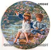 CHILDREN, KINDER, NIÑOS, paintings+++++,USLGSK0046,#K#, EVERYDAY ,Sandra Kock, victorian