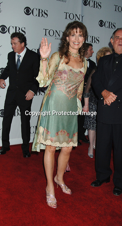 Lucie Arnaz..arriving at the 60th Annual Tony Awards on June11, 2006..at Radio City Music Hall. ..Robin Platzer, Twin Images