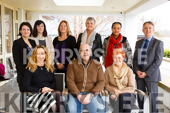 Attending the Employment Law &amp; BeSmart.ie Seminar 2018 run by the Kerry Local Enterprise Office and HR Suite in the Ballygarry House Hotel on Monday last. Seated l-r, Fiona Leahy (Local Enterprise Office), Stephen Keane and Kathy O&rsquo;Sullivan (Abbeydorney Development).<br /> Standing l-r, Siobhan Rivas May (PSC Accountants and Advisors), Sarah Linnehan (JR America), Judy Carmody (Lartigue Monorail), Noelle O&rsquo;Connell (Listowel CE), Janice Muhere (Wild and Happy Group Travel) and Francis Moriarty (PSC Taxation services).