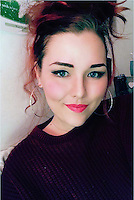 2016 07 12 Lauren McQuaid who died of an antidepressants overdose, Cardiff, UK