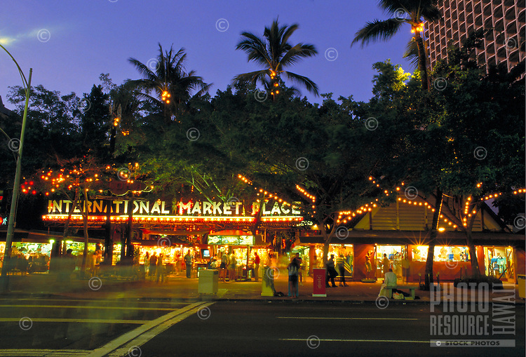 International Marketplace, Kalakaua Ave., Waikiki, Oahu