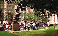 Rodan's The Thinker Columbia University Campus.  New York New York USA