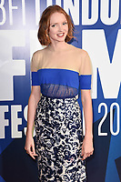 Lily Cole at the 2017 BFI London Film Festival Awards at Banqueting House, London, UK. <br /> 14 October  2017<br /> Picture: Steve Vas/Featureflash/SilverHub 0208 004 5359 sales@silverhubmedia.com