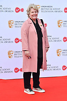 Sandi Toksvig<br /> at Virgin Media British Academy Television Awards 2019 annual awards ceremony to celebrate the best of British TV, at Royal Festival Hall, London, England on May 12, 2019.<br /> CAP/JOR<br /> &copy;JOR/Capital Pictures
