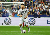 Niklas Süle (Deutschland Germany)- 16.10.2018: Frankreich vs. Deutschland, 4. Spieltag UEFA Nations League, Stade de France, DISCLAIMER: DFB regulations prohibit any use of photographs as image sequences and/or quasi-video.