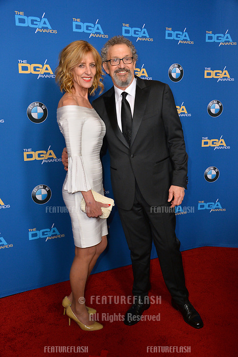 Christine Lahti &amp; Thomas Schlamme at the 70th Annual Directors Guild Awards at the Beverly Hilton Hotel, Beverly Hills, USA 03 Feb. 2018<br /> Picture: Paul Smith/Featureflash/SilverHub 0208 004 5359 sales@silverhubmedia.com