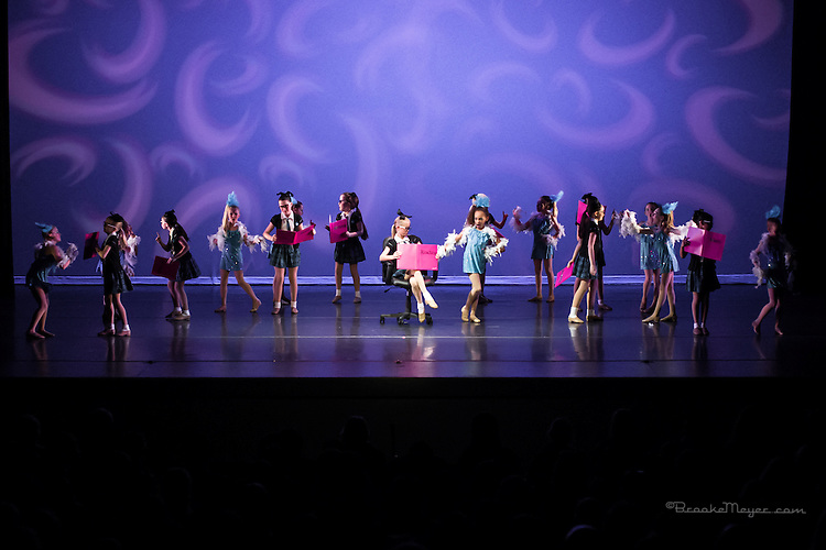 "Matinee Performance ""A Taste Of Broadway"", the Spring Gala production of 3D Project Jazz Company. Cary Arts Center, 14 March 2015."