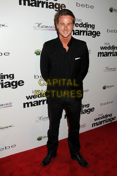 "RICHARD REID.Premiere of ""Love, Wedding, Marriage"" held at The Pacific Design Center in Beverly Hills, California, USA..May 17th, 2011.full length black suit.CAP/ADM/BP.©Byron Purvis/AdMedia/Capital Pictures."