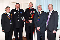 Central Bedfordshire Council Chairman's Civic Service at St Mary's Church, Stotfold, Bedfordshire on Sunday March 15th 2020<br /> <br /> Photo by Keith Mayhew
