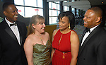 From left: Tony Speller and Jamie L. Greenjeck with Eileen and Kase Lawal at the Houston Area's Urban League Equal Opportunity Day Gala at the Hilton Americas Houston Saturday night June 20, 2009.(Dave Rossman/For the Chronicle)