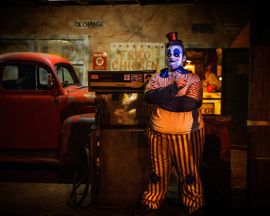 The proprietor of the the old-time gasoline station at the Reapers Realm